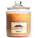 Keystone Candle J64-CofCake 64 oz Coffee Cake Jar Candles
