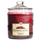 Keystone Candle J64-CranChut 64 oz Cranberry Chutney Jar Candles