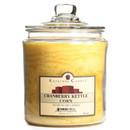 Keystone Candle J64-CranKett 64 oz Cranberry Kettle Corn Jar Candles