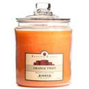 Keystone Candle J64-OTwist 64 oz Orange Twist Jar Candles