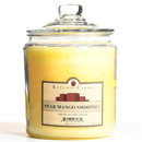 Keystone Candle J64-PMS 64 oz Pear Mango Smoothie Jar Candles