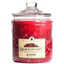 Keystone Candle J64-RHC 64 oz Red Hot Cinnamon Jar Candles
