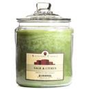 Keystone Candle J64-SandC 64 oz Sage and Citrus Jar Candles