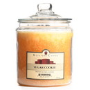 Keystone Candle J64-SCookie 64 oz Sugar Cookie Jar Candles