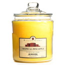 Keystone Candle J64-TropPin 64 oz Tropical Pineapple Jar Candles