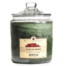 Keystone Candle J64-TusHerb 64 oz Tuscan Herb Jar Candles