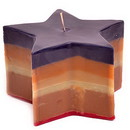 Keystone Candle LayStar Colored Layered Star Candles
