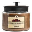 Keystone Candle M64-BAC 70 oz Montana Jar Candles Baked Apple Crisp