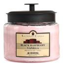 Keystone Candle M64-BRV 70 oz Montana Jar Candles Black Raspberry Vanilla