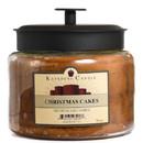 Keystone Candle M64-CCakes 70 oz Montana Jar Candles Christmas Cakes