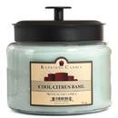 Keystone Candle M64-CCB 70 oz Montana Jar Candles Cool Citrus Basil