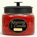 Keystone Candle M64-ChrisEss 70 oz Montana Jar Candles Christmas Essence