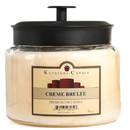Keystone Candle M64-CrBrulee 70 oz Montana Jar Candles Cream Brulee