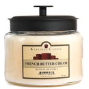 Keystone Candle M64-FBCream 70 oz Montana Jar Candles French Butter Cream