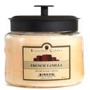 Keystone Candle M64-FrVan 70 oz Montana Jar Candles French Vanilla
