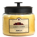 Keystone Candle M64-LemonCook 70 oz Montana Jar Candles Lemon Cookie