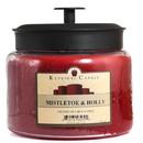 Keystone Candle M64-MisHolly 70 oz Montana Jar Candles Mistletoe and Holly