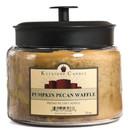 Keystone Candle M64-PPW 70 oz Montana Jar Candles Pumpkin Pecan Waffles