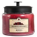 Keystone Candle M64-RHC 70 oz Montana Jar Candles Red Hot Cinnamon