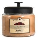 Keystone Candle M64-Sandal 70 oz Montana Jar Candles Sandalwood
