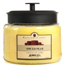 Keystone Candle M64-SpicePear 70 oz Montana Jar Candles Spiced Pear