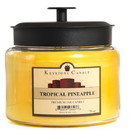 Keystone Candle M64-TropPin 70 oz Montana Jar Candles Tropical Pineapple