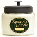 Keystone Candle M64-WhUns 70 oz Montana Jar Candles White Unscented