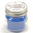 Keystone Candle Mas-HPT-BlCob Half Pint Mason Jar Candle Blueberry Cobbler