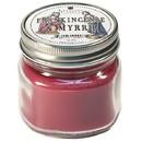 Keystone Candle Mas-HPT-FandM Half Pint Mason Jar Candle Frankincense and Myrrh