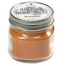 Keystone Candle Mas-HPT-HolHome Half Pint Mason Jar Candle Holiday Homecoming
