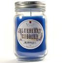Keystone Candle Mas-PT-BlCob Pint Mason Jar Candle Blueberry Cobbler