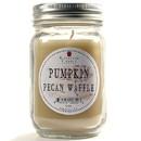 Keystone Candle Mas-PT-PPW Pint Mason Jar Candle Pumpkin Pecan Waffle