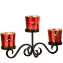 Keystone Candle POM503573 Red Votive Centerpiece Set