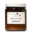 Keystone Candle PS8AM-AppCinn Pure Soy Apple Cinnamon 8 oz