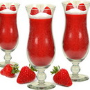 Keystone Candle SpJar-StawDaiq Scented Strawberry Daiquiri Candle