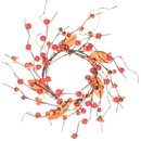 Keystone Candle Sul-bttsw4 Bittersweet Candle Ring 4.5 Inch