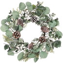 Keystone Candle Sul-cp575 Berry Foliage 6.5 Inch Candle Rings