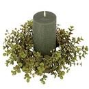 Keystone Candle Sul-euc4 Eucalyptus Candle Ring 4 Inch