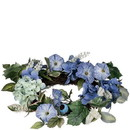 Keystone Candle Sul-hpt6 Hydrangea Petunia 6.5 Inch Candle Ring