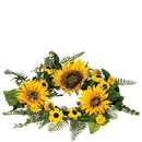 Keystone Candle Sul-sfw6 Sunflower 6.5 Inch Candle Ring