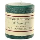 Keystone Candle Tex3x3-Balsam Textured 3x3 Balsam Fir Pillar Candles