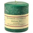 Keystone Candle Tex4x4-Balsam Textured 4x4 Balsam Fir Pillar Candles