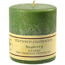 Keystone Candle Tex4x4-Bay Textured 4x4 Bayberry Pillar Candles