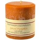 Keystone Candle Tex4x4-Pumpk Textured 4x4 Spiced Pumpkin Pillar Candles
