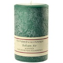 Keystone Candle Tex4x6-Balsam Textured 4x6 Balsam Fir Pillar Candles