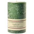 Keystone Candle Tex4x6-Bay Textured 4x6 Bayberry Pillar Candles