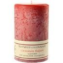 Keystone Candle Tex4x6-CinnBals Textured 4x6 Cinnamon Balsam Pillar Candles