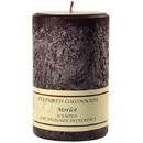 Keystone Candle Tex4x6-Merlot Textured 4x6 Merlot Pillar Candles