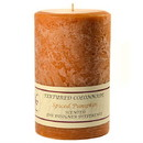 Keystone Candle Tex4x6-Pumpk Textured 4x6 Spiced Pumpkin Pillar Candles