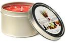 Keystone Candle Tin8-Rasp Raspberry Cream Candle Tins 8 oz